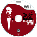The Godfather: Blackhand Edition Wii disc (RGFE69)