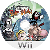 The Grim Adventures of Billy & Mandy Wii disc (RGME5D)