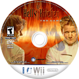 Hell's Kitchen: The Video Game Wii disc (RH2E41)