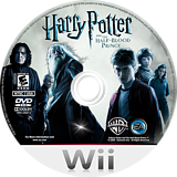 Harry Potter and the Half-Blood Prince Wii disc (RH6E69)
