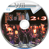 The House of the Dead 2 & 3 Return Wii disc (RHDE8P)