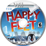 Happy Feet Wii disc (RHFE5D)