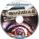 Manhunt 2 Wii disc (RHTE54)