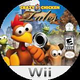 Crazy Chicken Tales Wii disc (RHVE5Z)