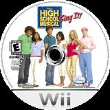 High School Musical: Sing It! Wii disc (RI2E4Q)