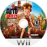 The Ant Bully Wii disc (RI3E5D)