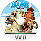 Ice Age: Dawn of the Dinosaurs Wii disc (RIAE52)