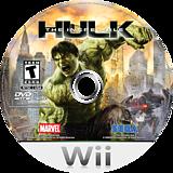 The Incredible Hulk Wii disc (RIHE8P)