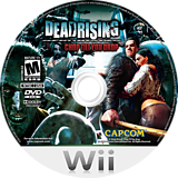 Dead Rising: Chop Till You Drop Wii disc (RINE08)