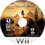 Jumper: Griffin's Story Wii disc (RJMERS)