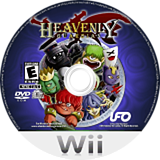 Heavenly Guardian Wii disc (RKKE6K)