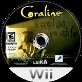 Coraline Wii disc (RKLEG9)