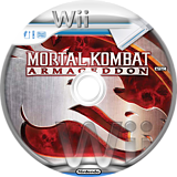 Mortal Kombat: Armageddon Wii disc (RKME5D)