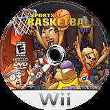 Kidz Sports: Basketball Wii disc (RKSENR)