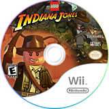 LEGO Indiana Jones: The Original Adventures Wii disc (RLIE64)