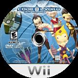 Code Lyoko: Quest for Infinity Wii disc (RLKEGY)