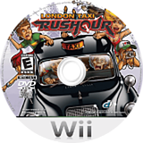 London Taxi: Rush Hour Wii disc (RLTENR)
