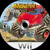 Monster 4x4: World Circuit Wii disc (RM4E41)