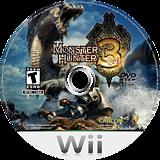Monster Hunter Tri Wii disc (RMHE08)
