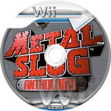 Metal Slug Anthology Wii disc (RMLEH4)