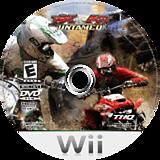 MX vs. ATV: Untamed Wii disc (RMXE78)