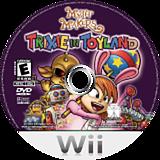Myth Makers: Trixie in Toyland Wii disc (RMZE5Z)
