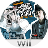 The Naked Brothers Band: The Video Game Wii disc (RN5E78)