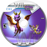 Legend of Spyro: The Eternal Night Wii disc (RO7E7D)