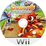 Cocoto Kart Racer Wii disc (ROCE5Z)
