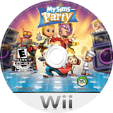 MySims Party Wii disc (RP4E69)