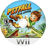 Pitfall: The Big Adventure Wii disc (RPFE52)