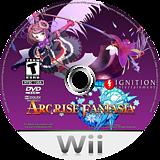 Arc Rise Fantasia Wii disc (RPJE7U)
