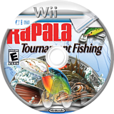 Rapala Tournament Fishing Wii disc (RPLE52)