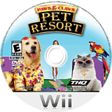 Paws & Claws: Pet Resort Wii disc (RPNE78)