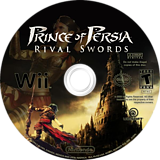 Prince of Persia: Rival Swords Wii disc (RPPE41)
