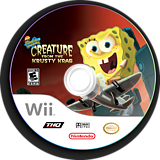 SpongeBob SquarePants: Creature from the Krusty Krab Wii disc (RQ4E78)