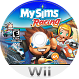 MySims Racing Wii disc (RQGE69)