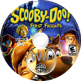 Scooby-Doo! First Frights Wii disc (RQNEWR)