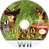 Cabela's Trophy Bucks Wii disc (RQPE52)