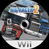 Rig Racer 2 Wii disc (RR2ENR)