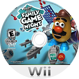 Hasbro: Family Game Night Wii disc (RRME69)
