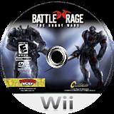 Battle Rage: Mech Conflict Wii disc (RRVENR)