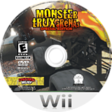 Monster Trux Arenas: Special Edition Wii disc (RRXE5Z)