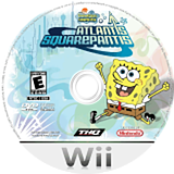 SpongeBob's Atlantis SquarePantis Wii disc (RSAE78)