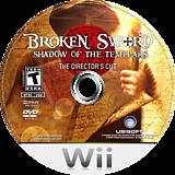 Broken Sword: Shadow of the Templars (Director's Cut) Wii disc (RSJE41)