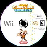 Super Monkey Ball: Banana Blitz Wii disc (RSME8P)