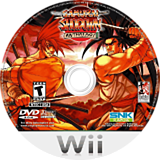 Samurai Shodown Anthology Wii disc (RSSEH4)