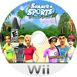 Summer Sports: Paradise Island Wii disc (RSUENR)