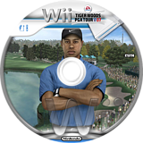 Tiger Woods PGA Tour 07 Wii disc (RT7E69)