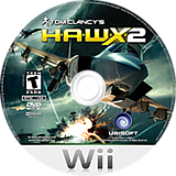 Tom Clancy's H.A.W.X. 2 Wii disc (RTAE41)